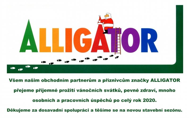 Obrázky do textů 60 let ALLIGATOR